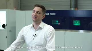 TRUMPF: Ask the Expert – TruPrint 5000 option of 500 °C preheating for aerospace applications