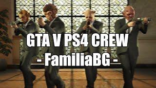 GTA V PS4 CREW - COMANDO ABERTO!!! #FamiliaBG