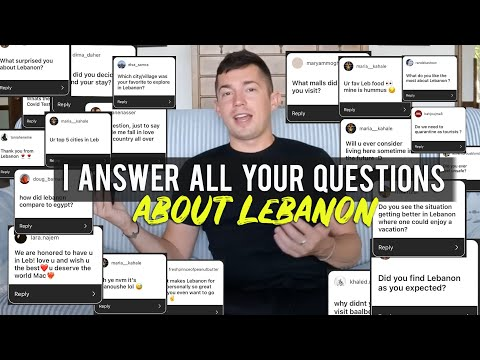 Q&A about my 2 months in Lebanon 🇱🇧