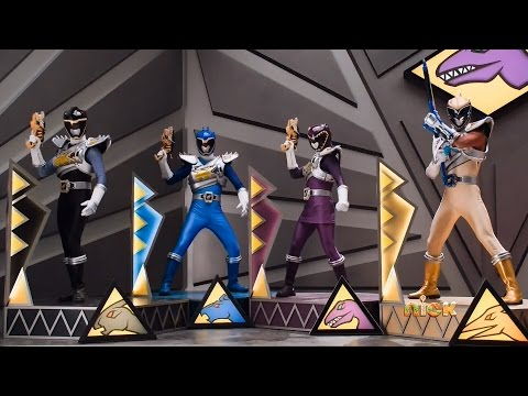 Power Rangers Dino Charge - Plesio Charge Megazord Pachy-Rex Formation Fight | Final Battle