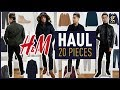 H&M TRY ON HAUL Fall/Winter 2018 - 2019 | Men's Outfit Inspiration & Lookbook