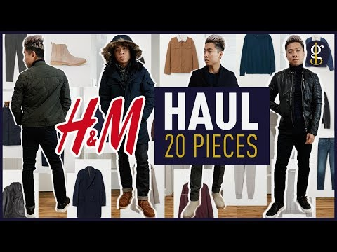 H&M MEGA TRY ON HAUL Fall/Winter 2018 - 2019 | Men's Outfit Inspiration & Lookbook