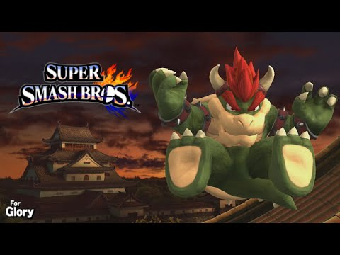 Bowser Bomb Shield Break Every Fight - Bowser For Glory