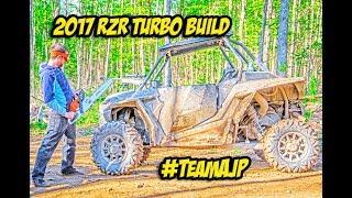 Polaris RZR Turbo Build Introduction - #TeamAJP Unboxing New SXS Parts!