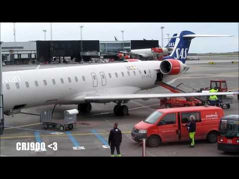 TRIP REPORT | ✈ CRJ900 | SAS Scandinavian Airlines | Copenhagen - Düsseldorf | Economy