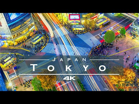 Tokyo, Japan 🇯🇵 - by drone [4K]