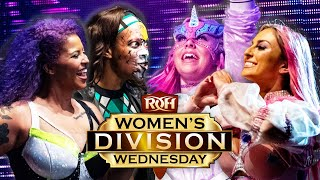 Holidead & Willow vs Laynie Luck & Alex Gracia on Women's Division Wednesday!