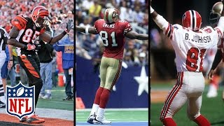 Wildest Celebrations in NFL History! Odell, TO, Chad Johnson & More! | NFL