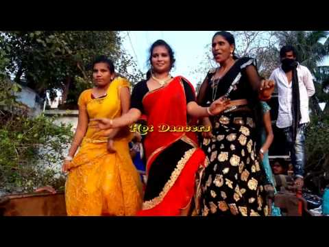 Recording dance show daylight Tamil village dance