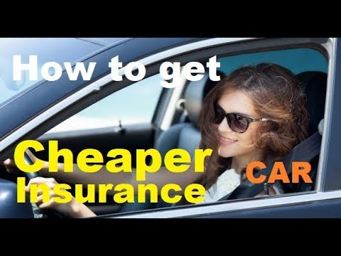 TOP 10 Tips for CHEAPER Car Insurance - How to get Lower Aut
