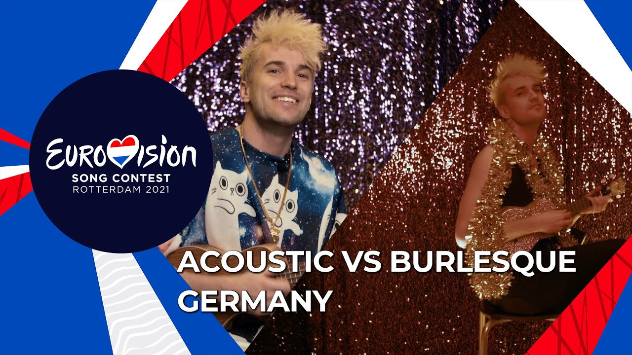 Acoustic Vs Burlesque - I Don't Feel Hate by Jendrik from Germany 🇩🇪  - Eurovision 2021