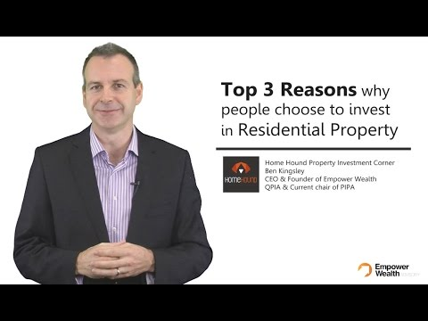 Top 3 Reasons Why People Choose To Invest in Real Estate - Home Hound Property Investment Tips