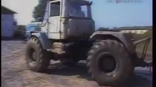 1988 год. Проблемы бездорожья в Калининской области СССР.