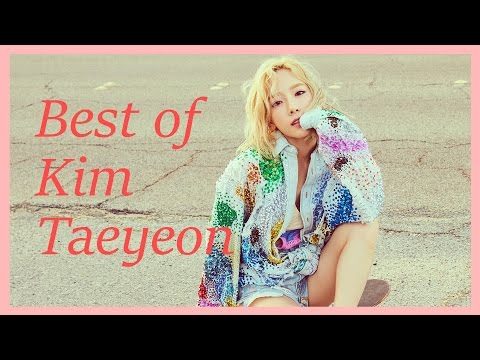 Best Songs of Kim Taeyeon 김태연 (2008 - 2016)