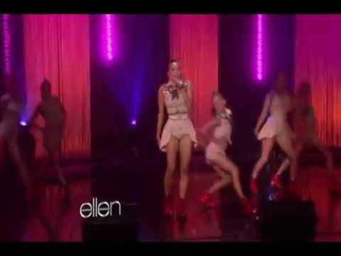 Kat Graham - Put Your Graffiti On Me  Live (Ellen)
