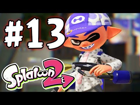 Splatoon 2 - Part 13 - HOW TO WIN AT RAINMAKER! (Nintendo Switch)