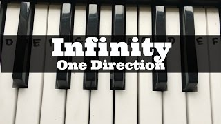 Infinity - One Direction | Easy Keyboard Tutorial With Notes (Right Hand)