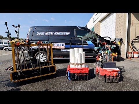 Build Your Own Inexpensive PDR Tool Cart | Dent Repair Tools