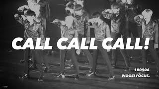 180906 ❤️ [4K] CALL CALL CALL! WOOZI FOCUS.