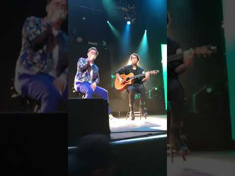 Jesse McCartney performing / It's Over / Anybody / Because You Live / live @HOBDallas 1/11/19