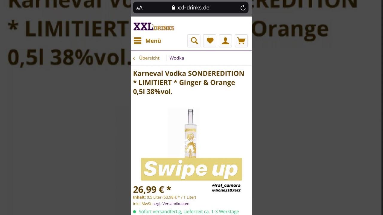 karneval vodka limited edition