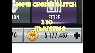 Injustice iOS 2.10 credit glitch