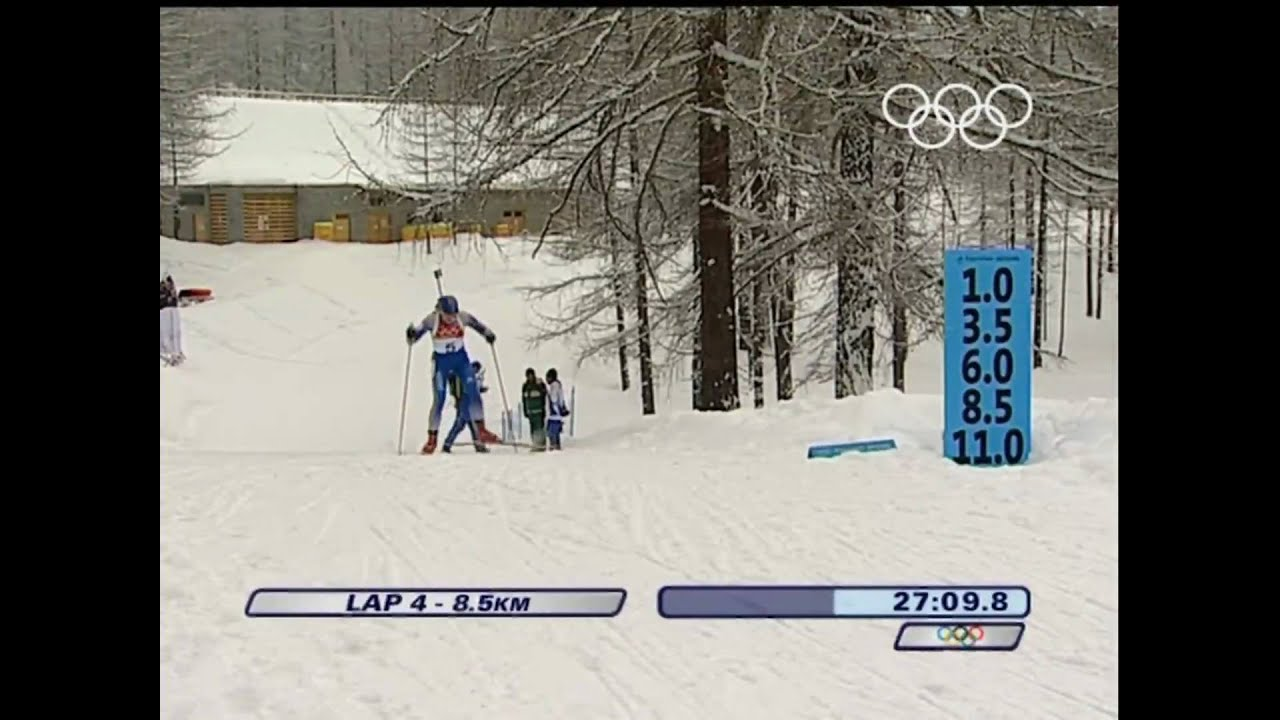 Biathlon - Women's 12.5Km Mass Start - Turin 2006 Winter Olympic Games