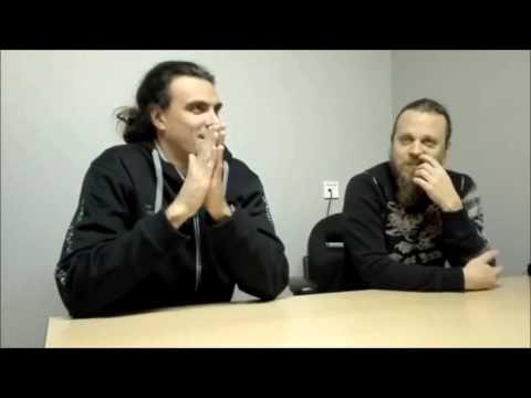 Sonata Arctica Interview (Henrik + Pasi) and Concert Report 013 Tilburg