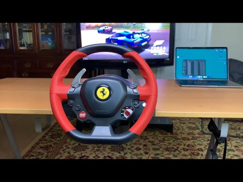 Unboxing Setup Of Ferrari 458 Spider Racing Wheel For Xbox One X S