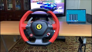 Unboxing & SetUp Of Ferrari 458 Spider Racing Wheel for Xbox one X S