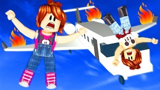 Roblox - ESCAPE DO AVIÃO (Escape the Plane Crash Obby)