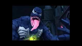 Spider-Man Friend or Foe Venom battle