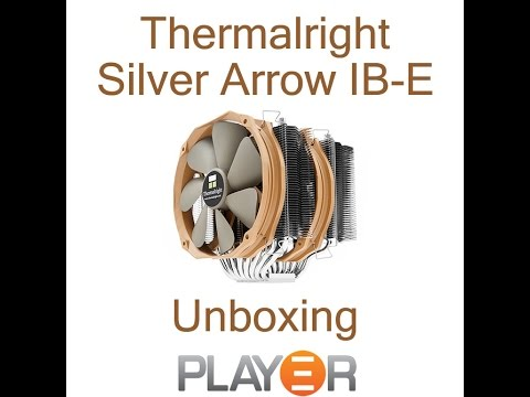 Thermalright Silver Arrow IB-E CPU Cooler Unboxing - YouTube