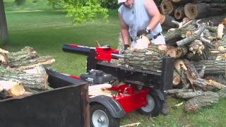 Troy built 27 ton log splitter
