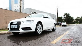 avaliao audi a4 attraction 2 0 tfsi   canal top speed