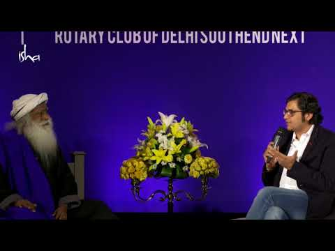 Arnab Goswami with Sadhguru In Conversation with the Mystic
