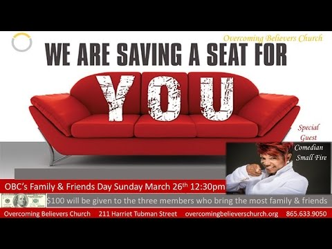 Pastor Daryl Arnold - Family & Friends Day 2017 Promo