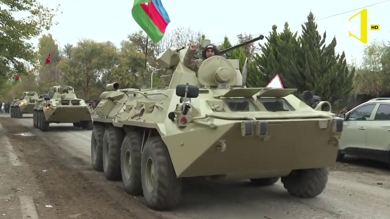 Azərbaycan Ordusunun bölmələri Ağdam rayonuna daxil olub