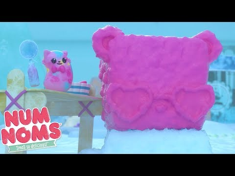 Num Noms | Num Noms Snow Sculpture | Num Noms Snackables Compilation | Cartoons for Children