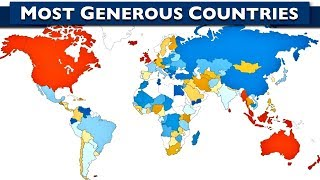 World's 10 Most Generous Countries