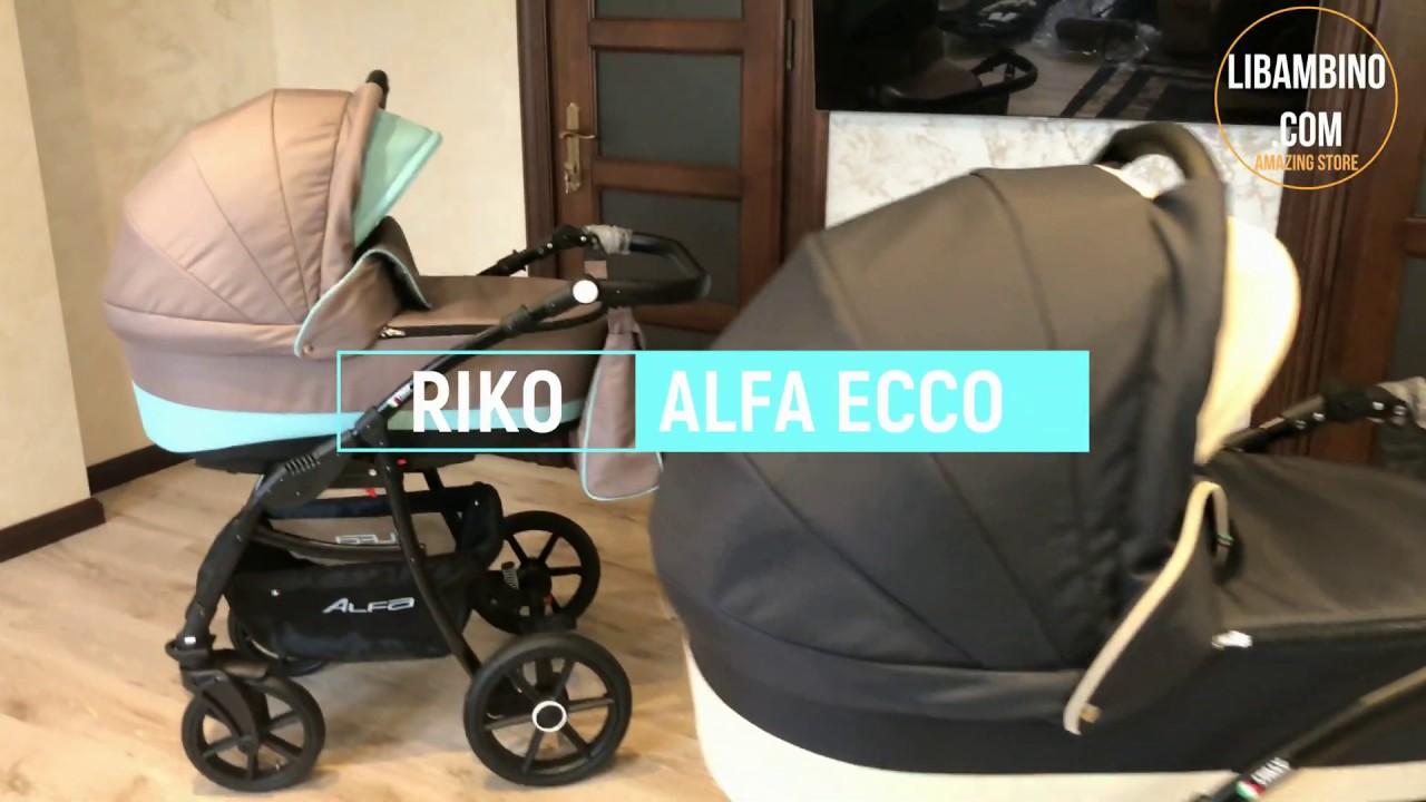 6852263dc RIKO ALFA ECCO - презентация новой коляски от бренда Riko в  интернет-магазине Libambino.com