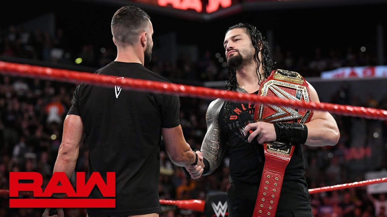 roman reigns to defend the universal title against finn bálor raw