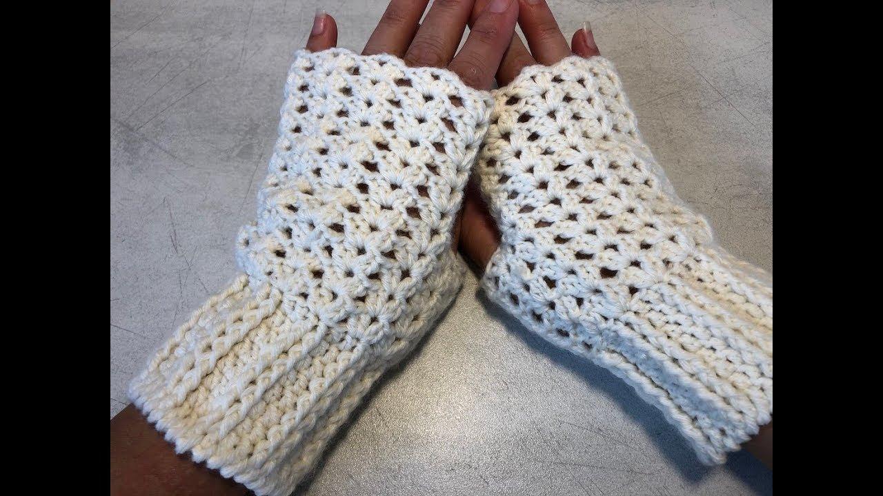 Tuto Mitaines Au Crochet