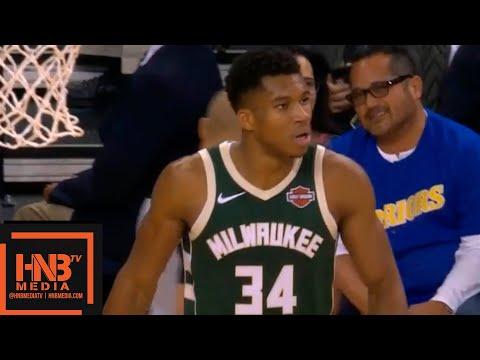Golden State Warriors vs Milwaukee Bucks 1st Half Highlights | 11.08.2018, NBA Season