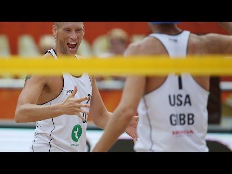Gibb/Patterson (USA) vs. Azaad/Bianchi (ARG) – Apeldoorn Men World Championships 2015