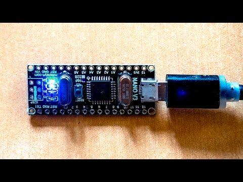 Качественная Arduino Nano, из Китая.