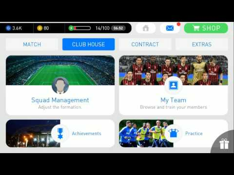 Pes 2017 Android|How to Recovery my Energy?