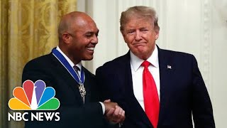 Yankees Star: Medal Of Freedom Is An 'Honor And Privilege'   NBC News