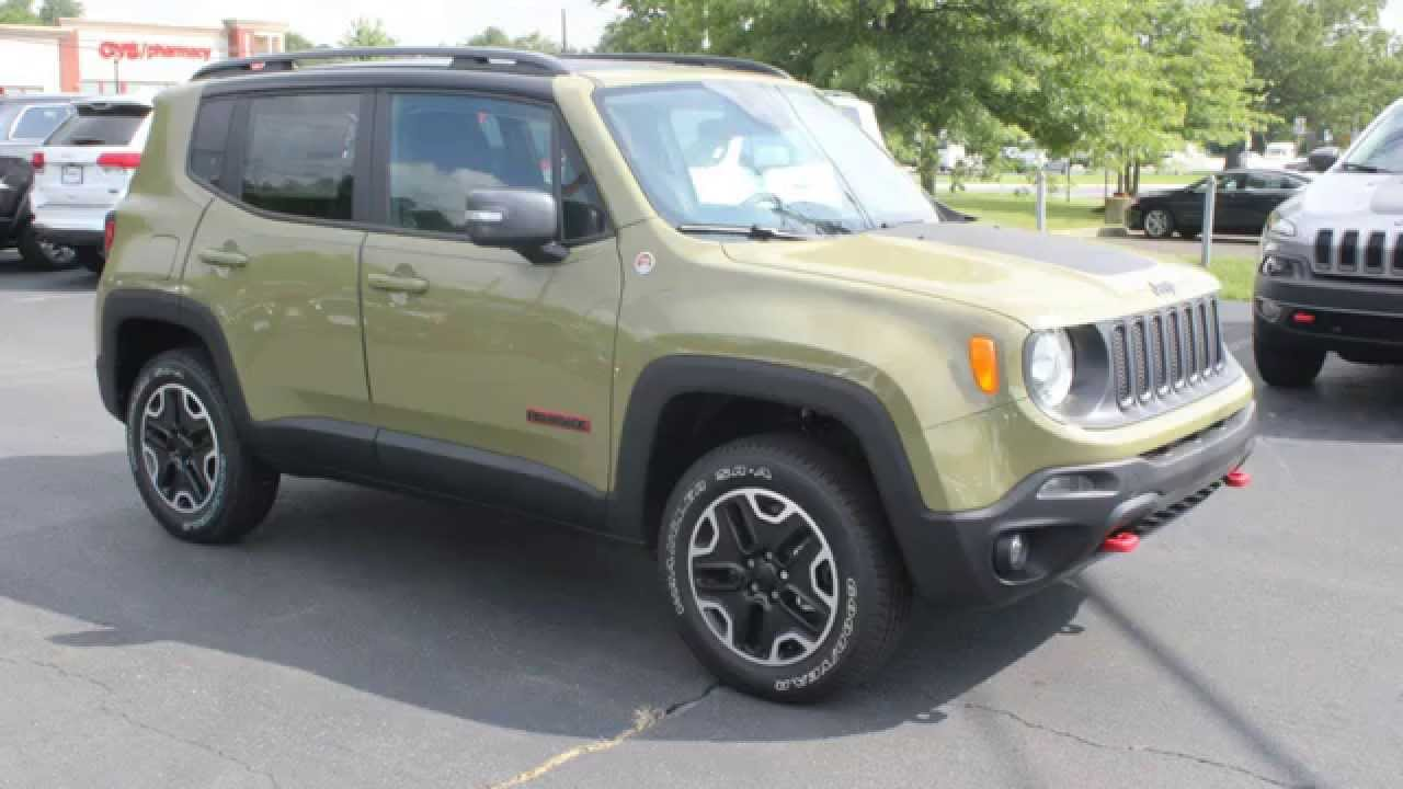 Commando Green 2015 Jeep Renegade