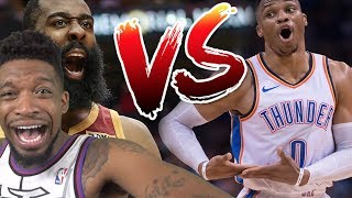 Who Has The MORE Impressive Streak? James Harden 30 STRAIGHT vs Russell Westbrook 10 TRIPLE Doubles!
